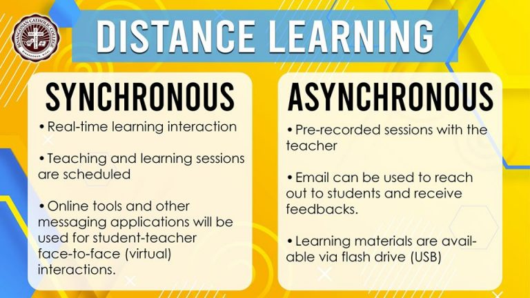 Distance Learning Types