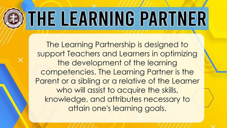 The Learning Partner