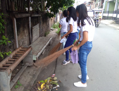 SHS Tree Planting and Clean-up Drive (2)