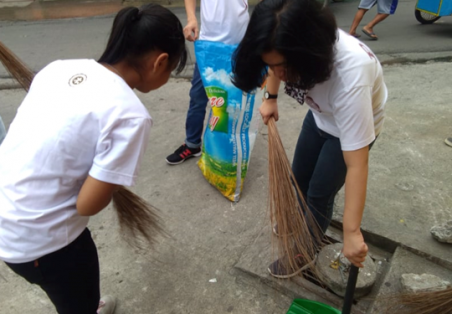 SHS Tree Planting and Clean-up Drive (3)