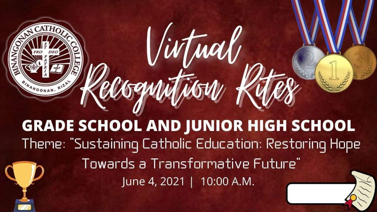 GS AND JHS VIRTUAL RECOGNITION