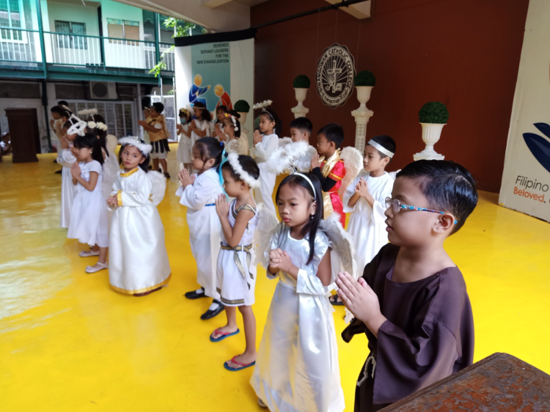 Parade of Angels and Saints (10)