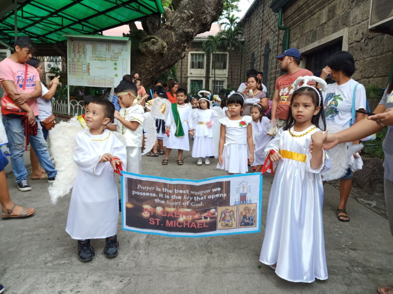 Parade of Angels and Saints (2)