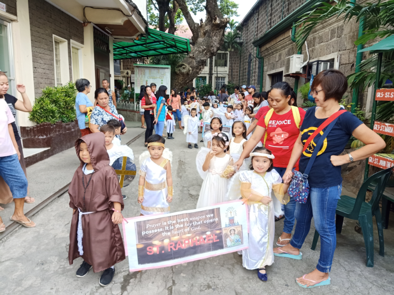 Parade of Angels and Saints (3)