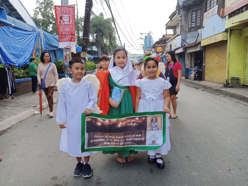 Parade of Angels and Saints (5)