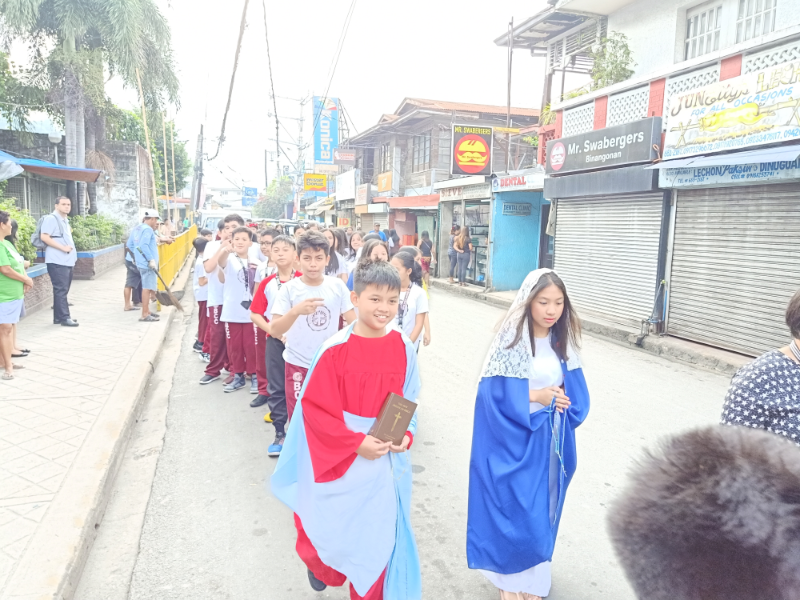 Parade of Angels and Saints (7)